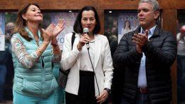 Clara Rojas apoya a Iván Duque