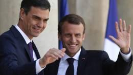 Pedro Sánchez y Macron se reúnen en Francia