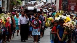 explosion de volcan en guatemala