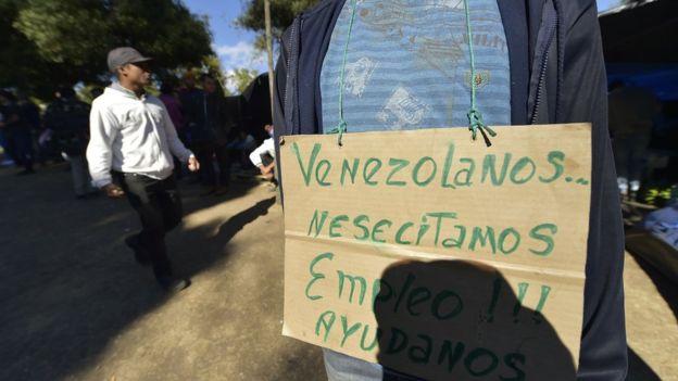 venezolanos necesita ayuda en ecuador