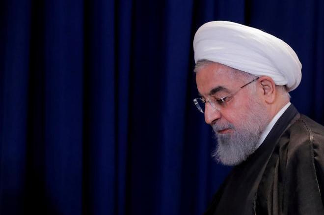El presidente iraní Hasan Rohani