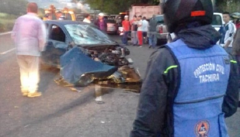 Tachira-Accidente