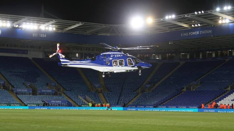 helicoptero Leicester