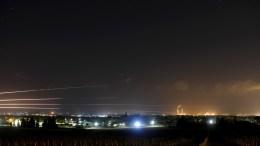 cohetes atacan israel