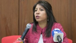 Nadia Cruz Defensora del Pueblo