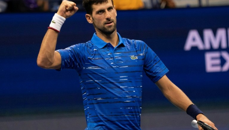 Djokovic en US Open