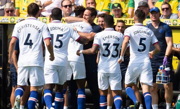 Chelsea ganó al Norwich City
