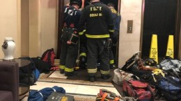 accidente en ascensor