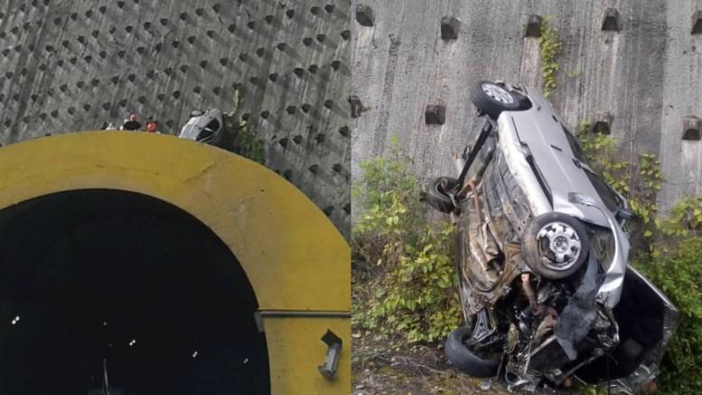 accidente tunel gma
