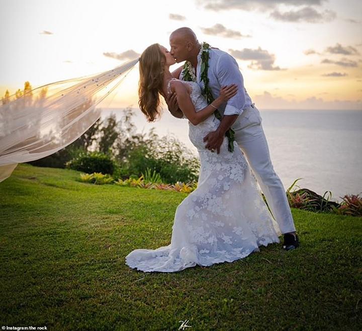 boda de la roca en hawai