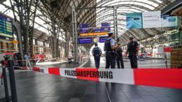 estación de trenes en Franfurt