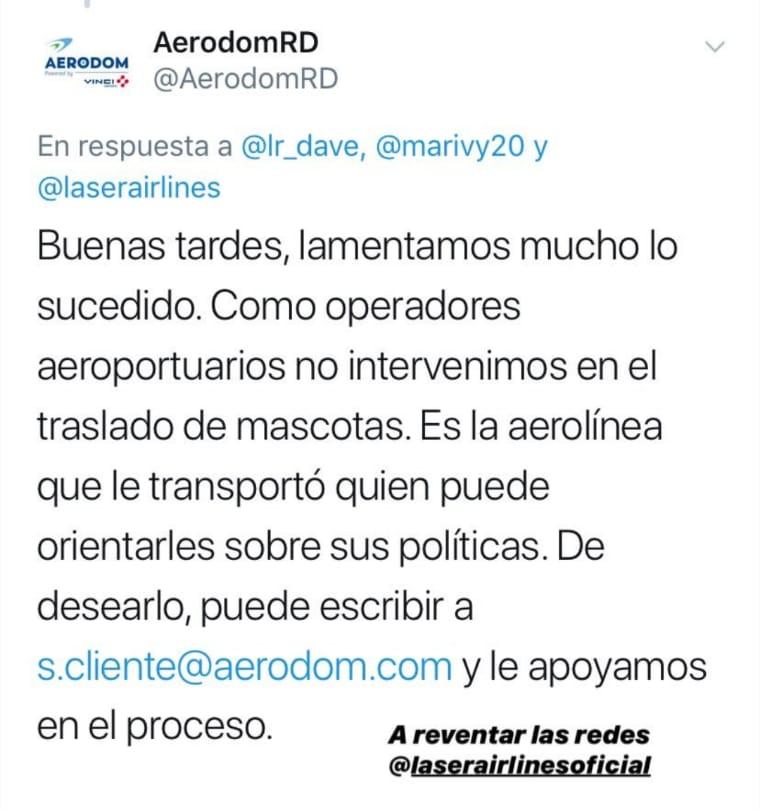 aeropuerto de dominicana