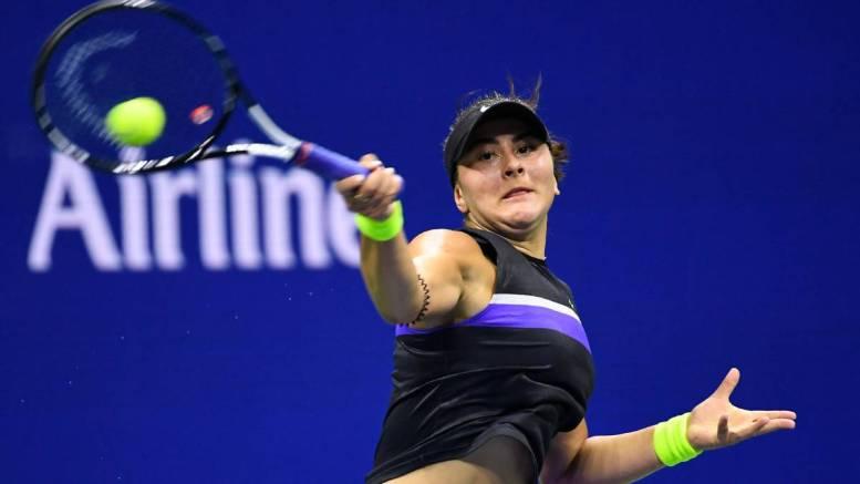 Tenista Bianca Andresscu