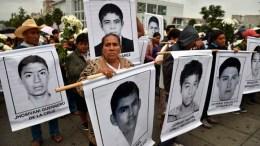 estudiantes de Ayotzinapa, México