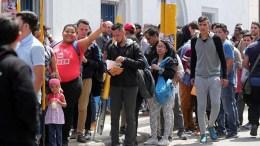 protesta frontera ecuador colombia