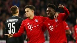 Coutinho con el Bayern Munich