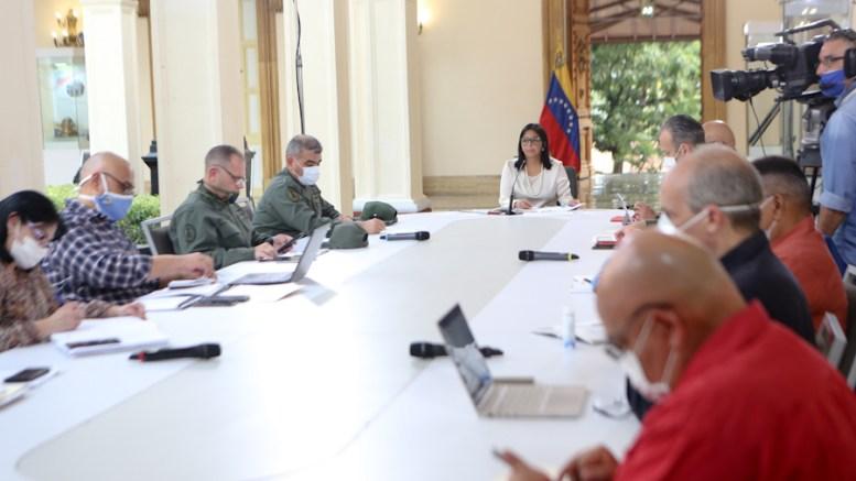 Comisión Presidencial Venezolana en Combate al COVID-19