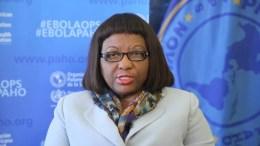 Directora de la OPS Carissa Etienne