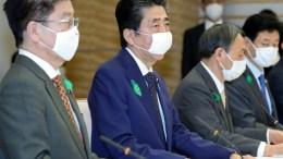 Primer ministro japonés Shinzo Abe