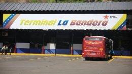 Terminal de pasajeros La Bandera en Caracas