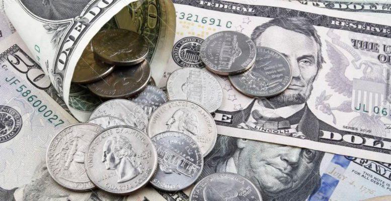monedas de dólar