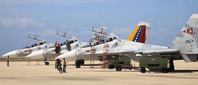 Aviación militar de Venezuela