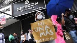 Protesta en Argentina Caso Garzón