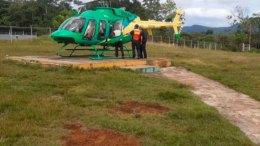 Helcóptero de la Gobernación del Estado Bolívar