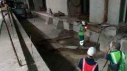 Trabajos en Línea 5 del Metro de Caracas