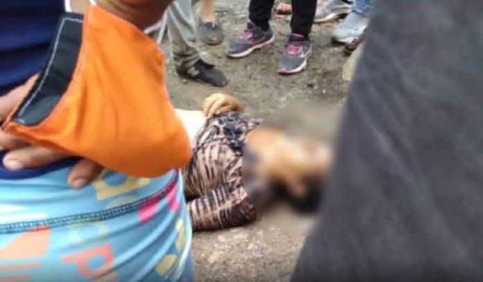 Mujer ahogada en el río Táchira
