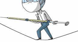 Caricatura de Rayma en Le Monde