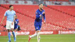 El Chelsea se clasificó para la final de la FA Cup tras eliminar al Manchester City en semifinales con un solitario gol de Ziyech.
