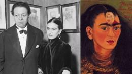 Diego Velásquez y Frida Kahlo