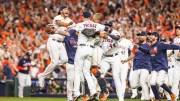 Astros de Houston celebran su pase a la Serie Mundial