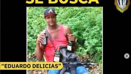 Eduardo Delicias uno de los más buscados por el CICPC
