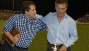 Macri y Ramón Puerta