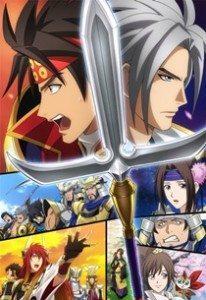 Sengoku Musou NAU 206x300 Animes da temporada exibidos pelo Crunchyroll