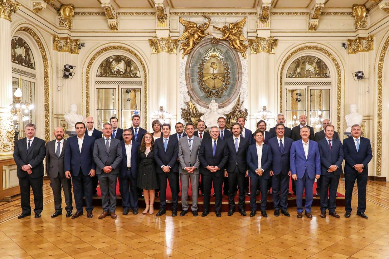 Gobernadores.