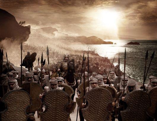 Imagen de Soldados Persas de la Pelicula 300
