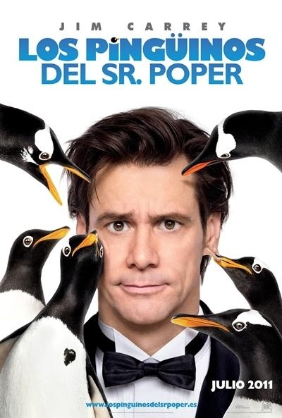 Los pingüinos del Sr. Poper Trailer en español