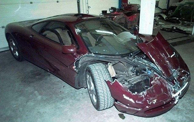 Ese coche tubo un accidente anterior en 1999
