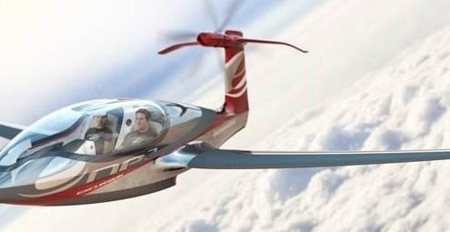 c66733db6fd9c6779ab24f57f69f5201 - El prototipo EQP2 un Avión futurista con Motor Eléctrico