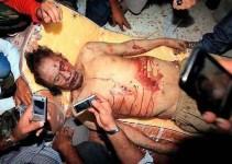 33e2c7a4f18f997a0fbcf33ef09e1b42 - El dilema de qué hacer con el cadáver de Gadafi