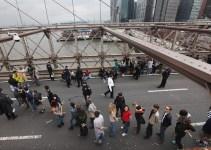 b9ad772005653afce4d4bd46c2efe842 - 700 detenidos en una marcha indignada en Nueva York