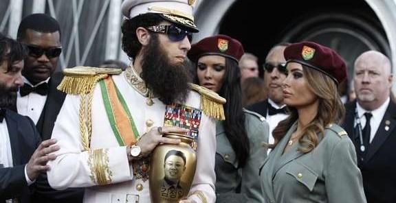 0176750c773a9dd29a31c85a92d3e83f - Sacha Baron Cohen esparce las 'cenizas' de Kim Jong-il en la alfombra roja