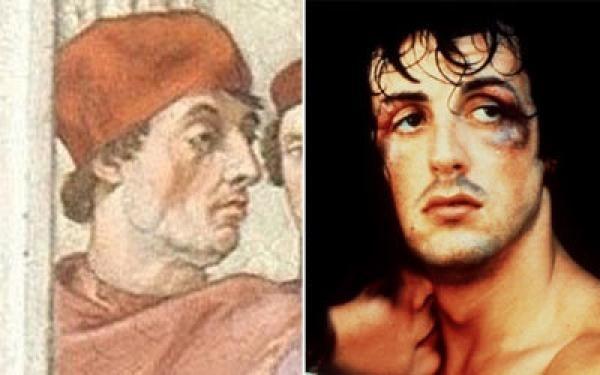 72754b70fe6beee440ef38686ca1c17b - Stallone aparece en pintura de Rafael de 1511 en el Vaticano