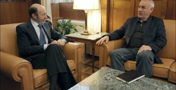 0ebcf0e7077f02b9df033f9073a6fdae - 'Bienvenido al cambio, Alfredo' Rubalcaba y Lara se reúnen por primera vez en esta legislatura