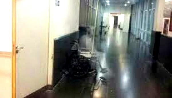 510f319cf8228eaeec295d7874fc6996 - Conmoción en hospital de Argentina por la aparición de un fantasma
