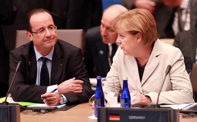 6e1a62cefb3736a146939183c6852626 - Merkel exige austeridad pero ella se sube el sueldo 950€ mas al mes mientras Hollande se lo baja un 30%