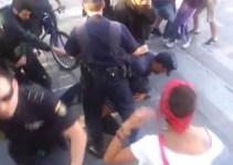 b6221b280ec31fd2ea149ca7a3efb4a2 - Butal actuación de la policía en Gran Canaria contra los jóvenes solidarios con los mineros